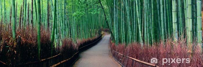 Adesivo Pixerstick Boschetto di bambù. - Panorami
