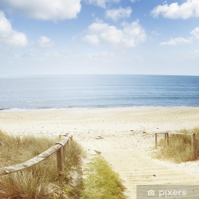 Beach Scene Wall Mural Pixers We Live To Change