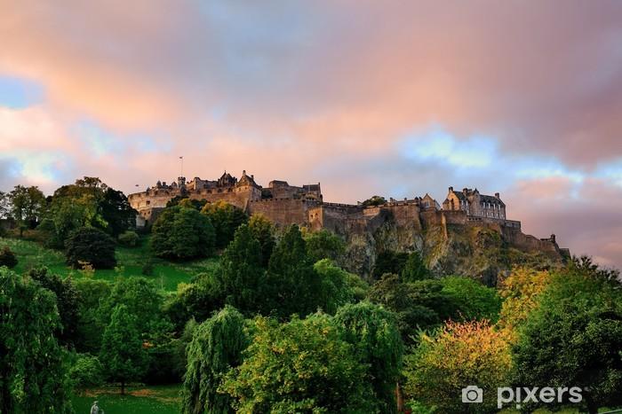 Fototapeta zmywalna Zamek w Edynburgu. - Tematy