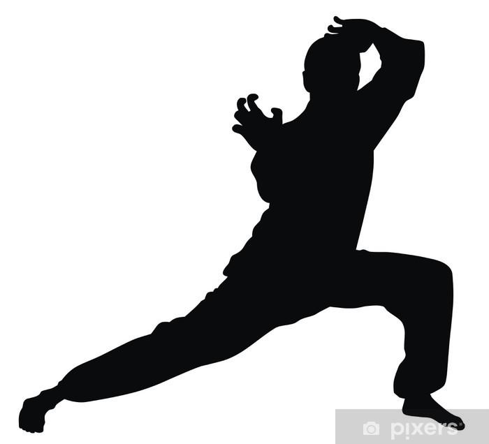 Pixerstick Aufkleber Martial art - Einzelsportarten