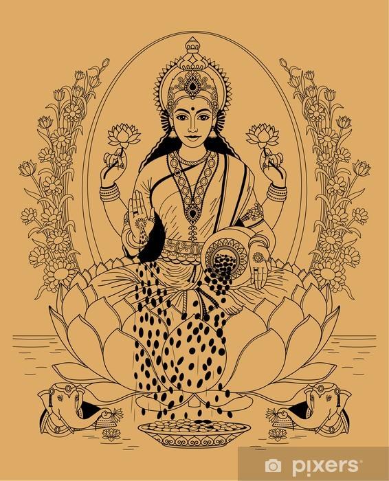 Fototapeta winylowa Lakshmi - Religie