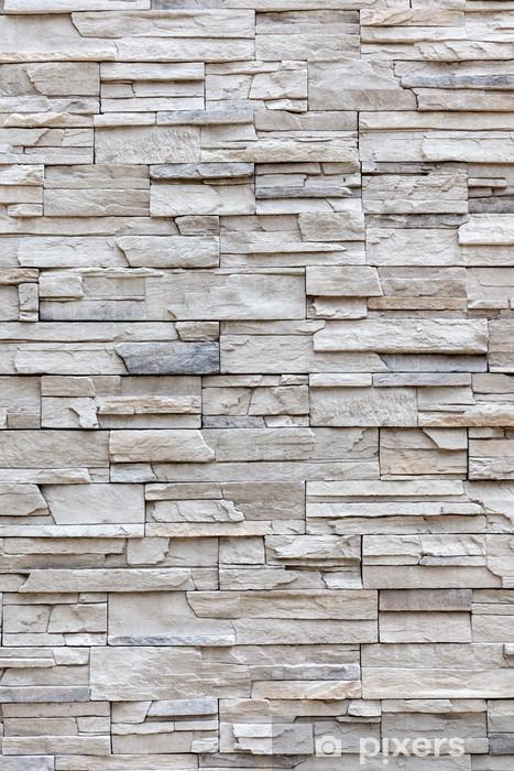 exterior grey brick wall, background wall pattern. sticker • pixers