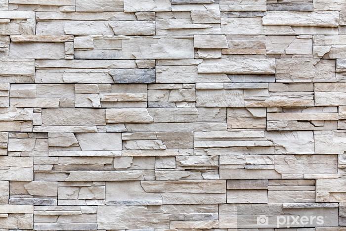 exterior rock brick wall, background wall pattern. sticker • pixers