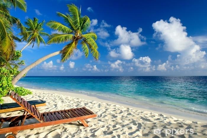 Fototapeta winylowa Tropikalna plaża - Krajobrazy