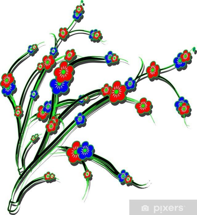 Fototapeta winylowa Winorośla - Kwiaty