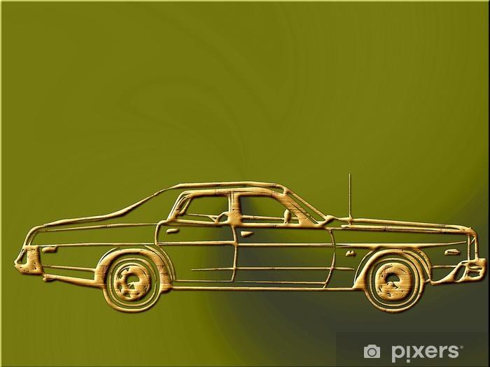 Fototapeta winylowa Luksusowy samochód 838729 - Tematy
