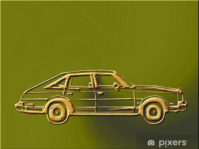 Fototapeta winylowa Sports car-838742 - Tematy