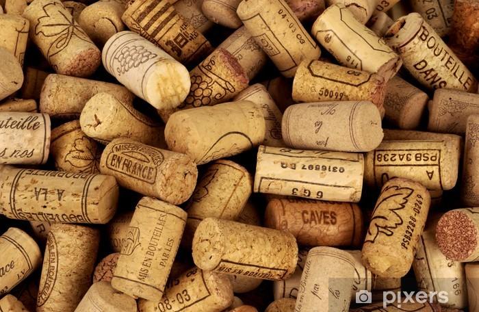 Sticker Pixerstick Bouchons de bouteilles de vin - iStaging