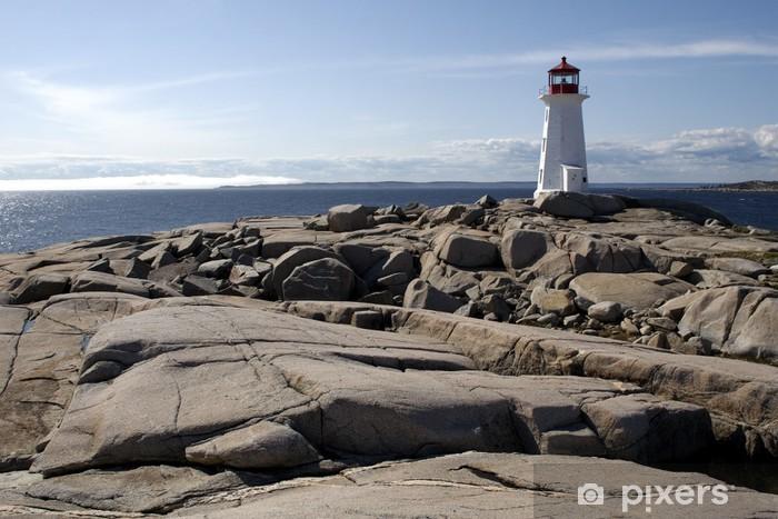 Fototapeta winylowa Peggy Cove Lighthouse - Ameryka