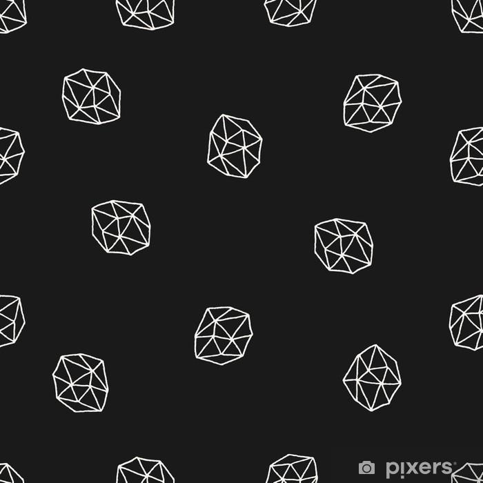 Pixerstick Sticker Abstracte Veelhoeken Naadloos Patroon - Grafische Bronnen