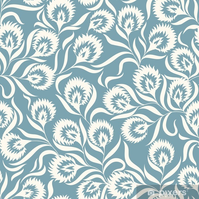 Fotomural Estándar Floral pattern - Plantas y flores