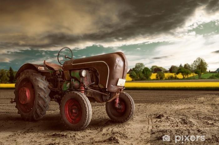 Fotomural Estándar Tractor vintage - Industria