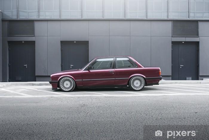 Vinil Duvar Resmi BMW E30 -