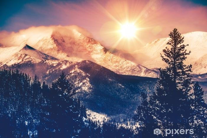 Zelfklevend Fotobehang Colorado bergen vista - Landschappen