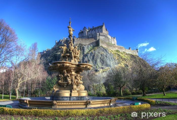 Fototapeta samoprzylepna Zamek w Edynburgu w Szkocji - Tematy