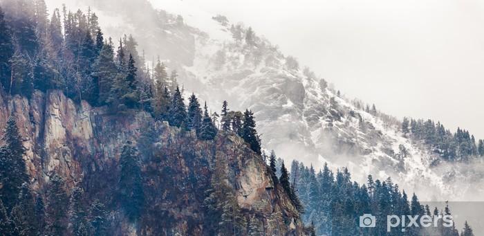 Papier peint vinyle Montagne - Montagne