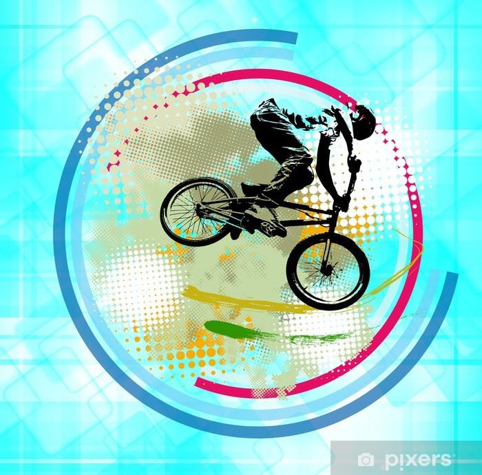 Poster Sport illustration - Cyclisme