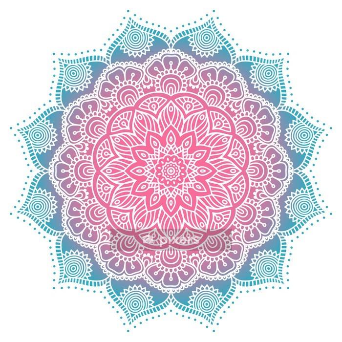 Naklejka na ścianę Mandala - Tekstury