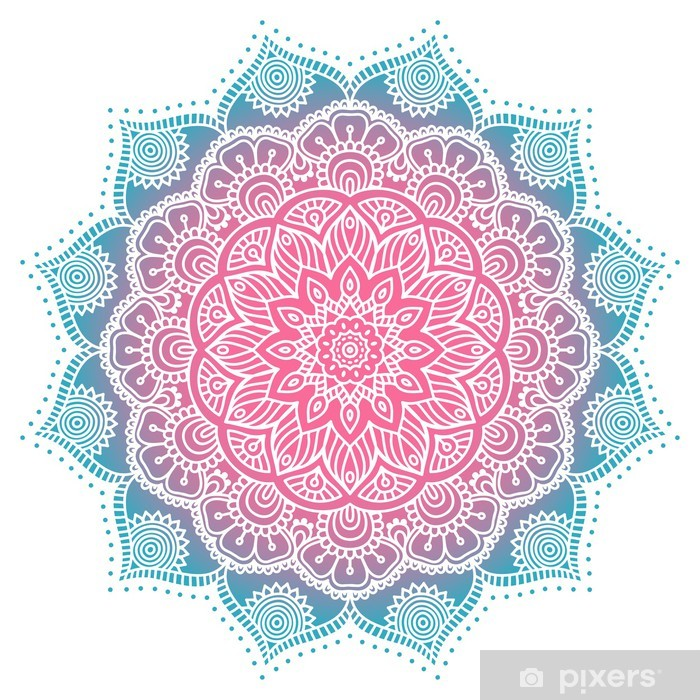 Fotomural Estándar Mandala - Texturas
