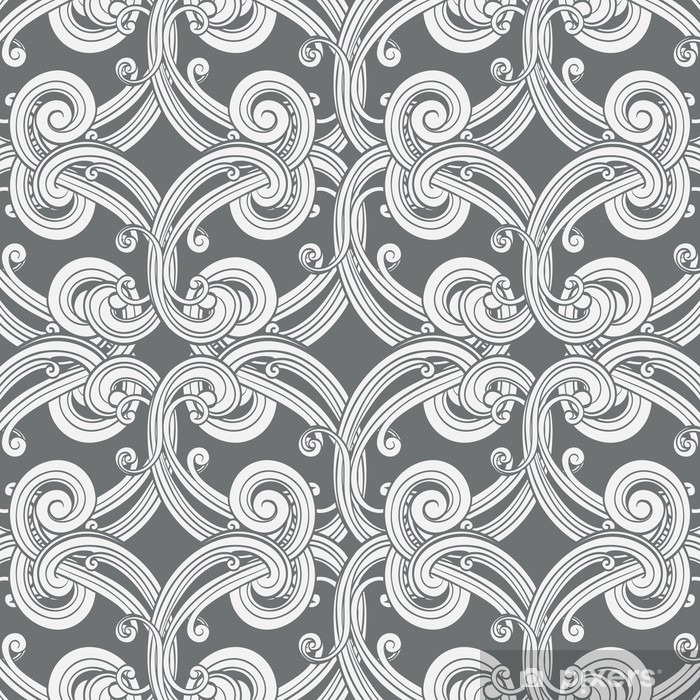 Damask Wallpaper Pattern Washable Wall Mural - Graphic Resources