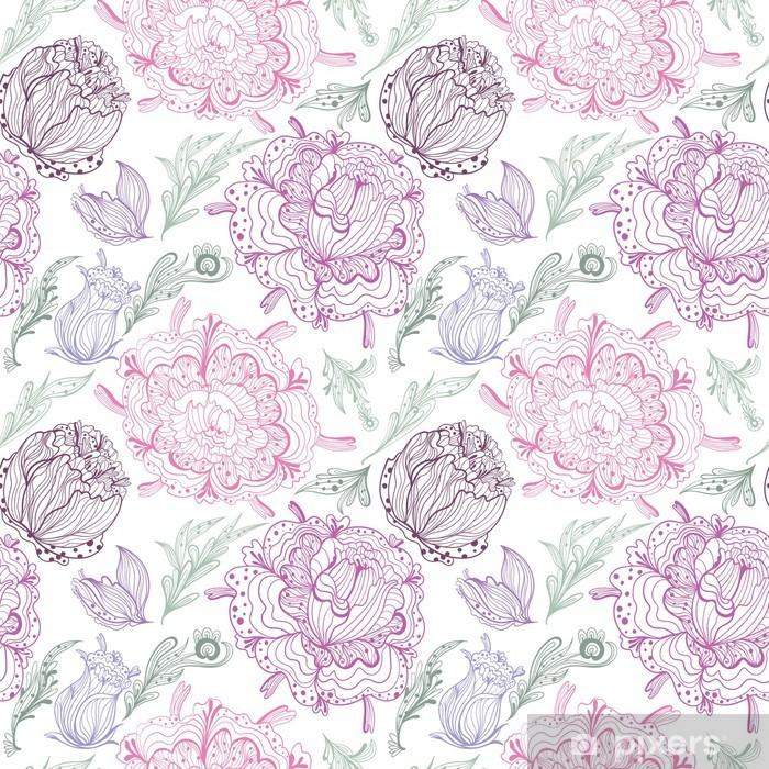 Papier peint vinyle Motif romantique Provence Vecteur - Styles