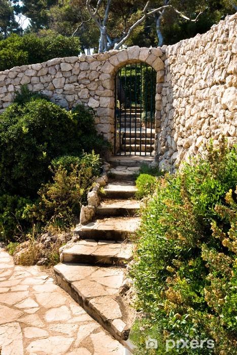 Fototapeta winylowa Architektura provençale - Woda