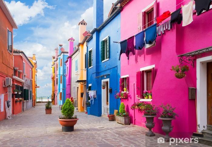 Fototapeta winylowa Wyspa Burano, Wenecja, Włochy - Europa