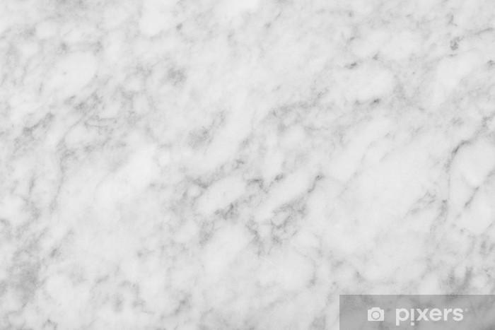 Hvid marmor tekstur baggrund (Høj opløsning) Pixerstick klistermærke - Råmaterialer