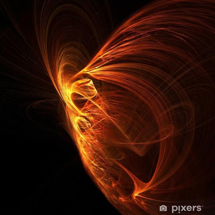 Poster Phoenix Fire. - Arrière plans