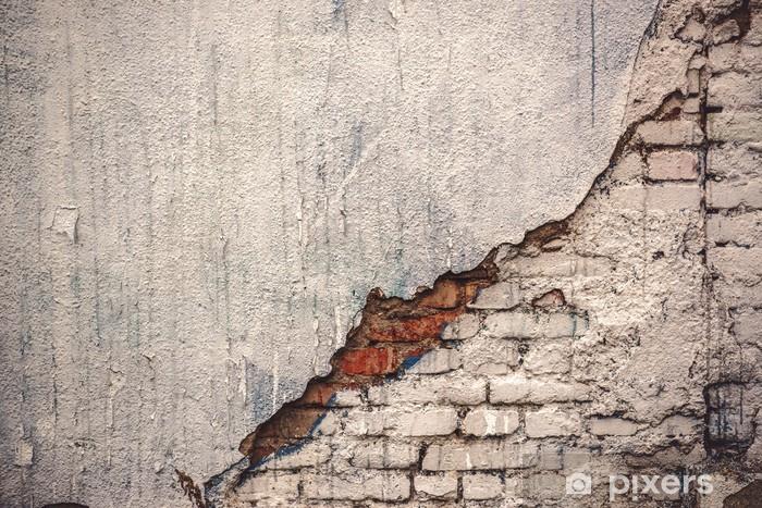 Nálepka Pixerstick Rustikální grunge Betonová zeď textury - Struktury
