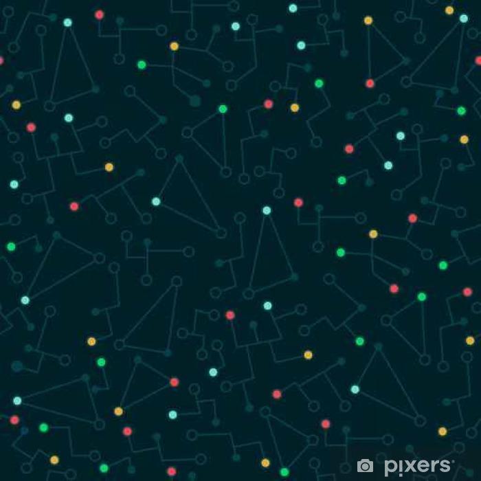 Naklejka Pixerstick Abstrakcyjny wzór w stylu płaskiej - Zasoby graficzne