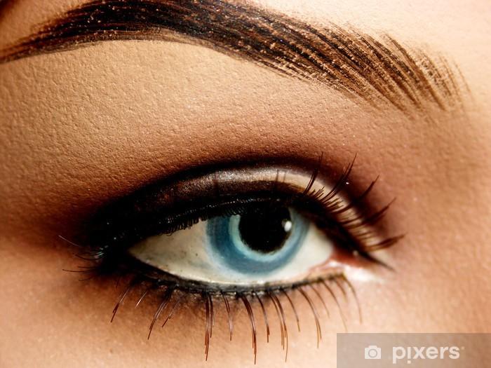 Fototapete Blaue Augen Make Up Mannequin Pixers Wir Leben Um