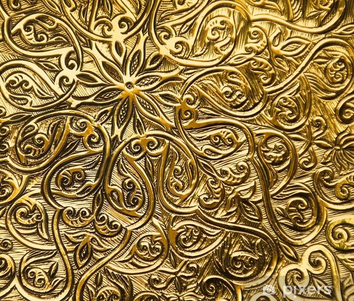 Naklejka Pixerstick Tło z orientalnymi ornamentami - Tematy