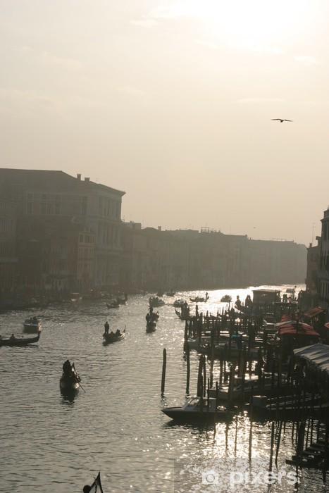 Vinyl-Fototapete Grand Canal de Venise 1 - Stadt