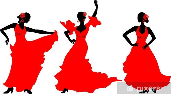 Fototapeta winylowa Tancerka flamenco - Sztuka i twórczość