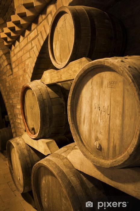 Fototapeta winylowa Beczki wina - Alkohol