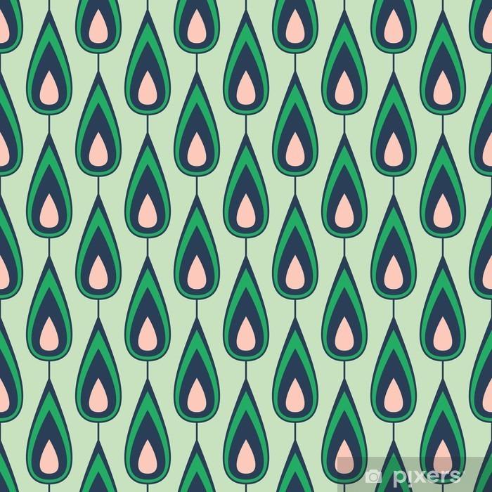 Pixerstick Aufkleber Seamless vintage pattern - Grafische Elemente