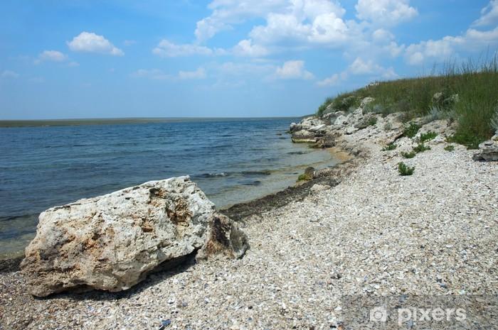 Fototapeta winylowa Donuzław zatoka na Krymie - Woda