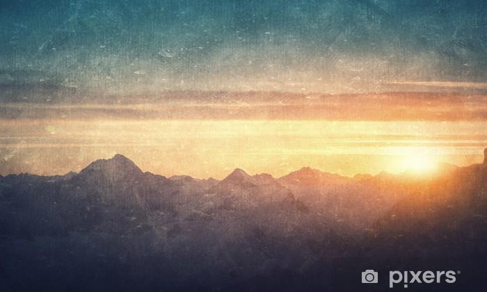 Fototapeta zmywalna Grunge stylu krajobrazowego - Budynki i architektura