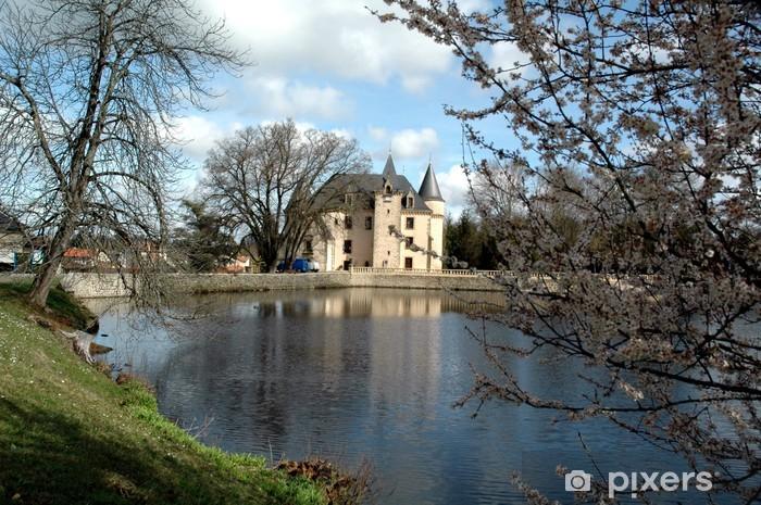Naklejka Pixerstick Zamek Nieul - Budynki użyteczności publicznej