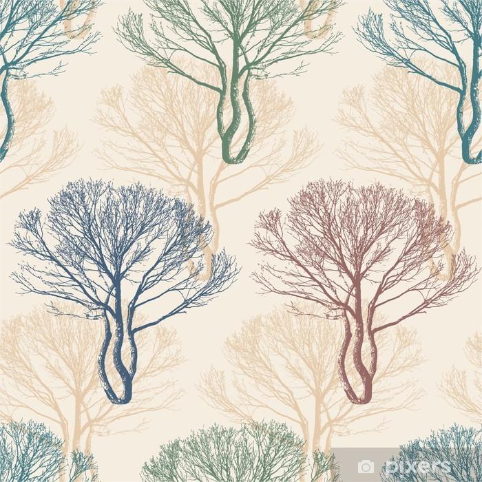 Vinyl Fotobehang Trees -