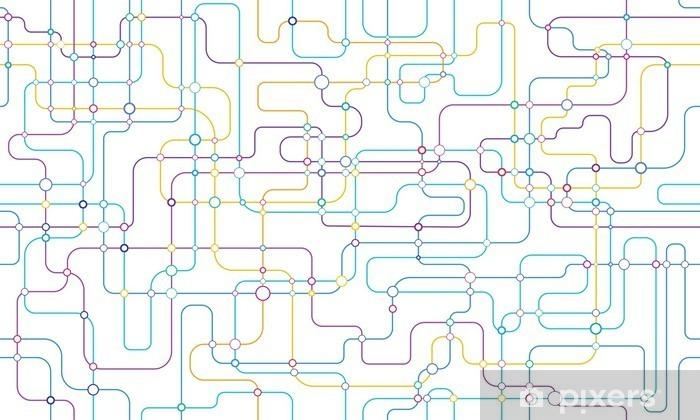 Pixerstick Dekor Nätverk sömlös bakgrund - Grafiska resurser