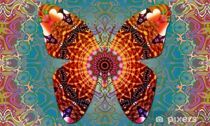 Naklejka Pixerstick Motyl fantasy - Zasoby graficzne