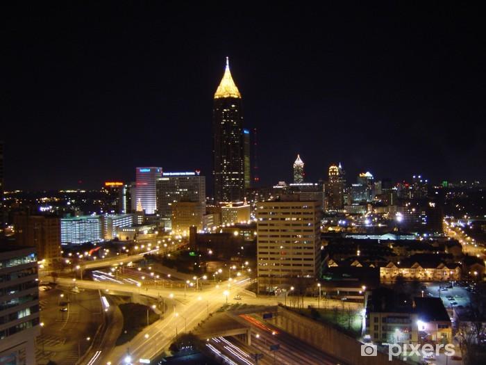Fotomural Estándar Atlanta en la noche - América
