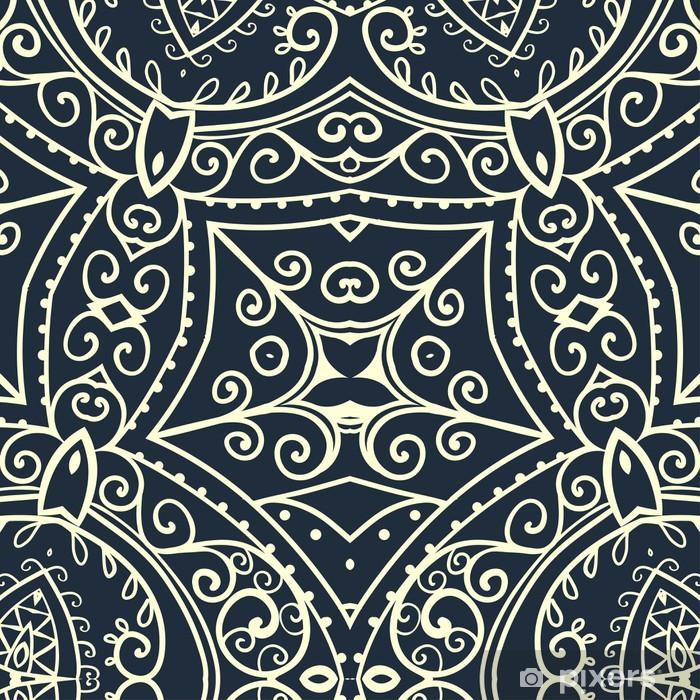 Sticker Pixerstick Ornement belle carte - Textures