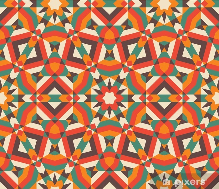 Papier peint vinyle Mosaïque transparente - Ressources graphiques