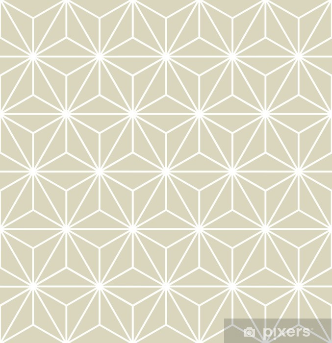Seamless Vector Geometric Pattern Texture Vinyl Wall Mural - Graphic Resources