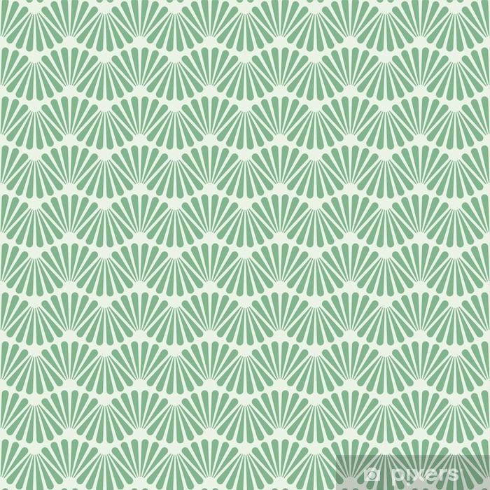 Problemfri Art Deco Pattern Texture Baggrund Baggrund Vaskbare fototapet - Grafiske Ressourcer