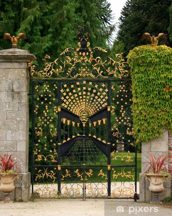 Afwasbaar Fotobehang Grille d'honneur - Huis en Tuin