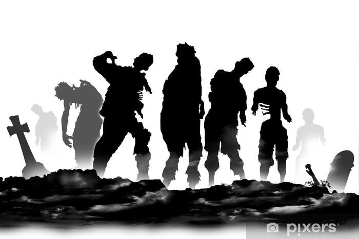 Papier peint vinyle Zombies - Thèmes